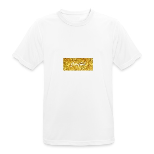 Scripted. Box Logo - Men's Breathable T-Shirt