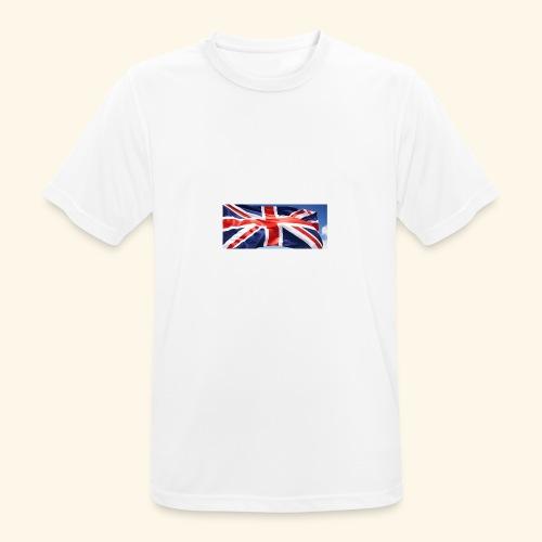 UK flag - Men's Breathable T-Shirt
