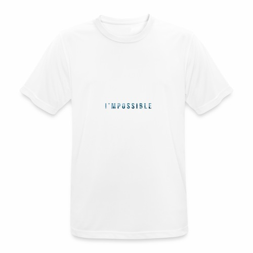 I'mpossible Waves - Men's Breathable T-Shirt