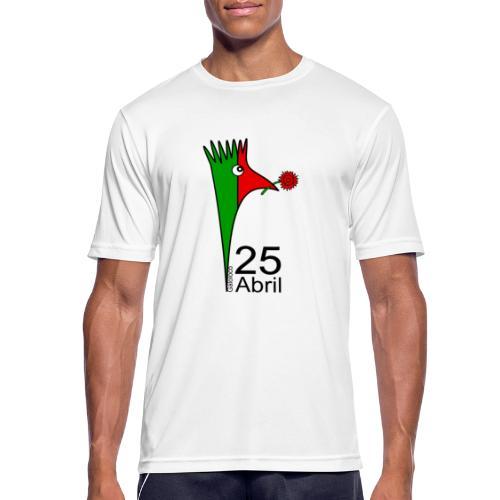 Galoloco - 25 Abril - Männer T-Shirt atmungsaktiv