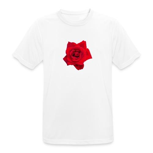 Red Roses - Koszulka męska oddychająca