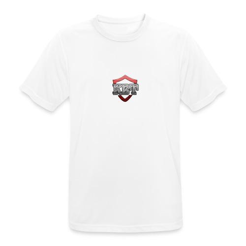 Kbt logo - Men's Breathable T-Shirt