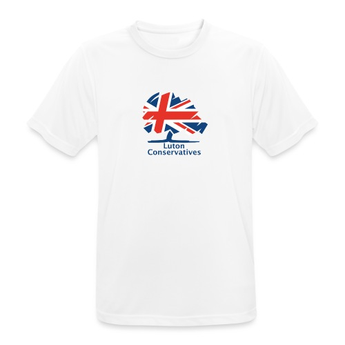 Luton Conservatives Badge - Men's Breathable T-Shirt