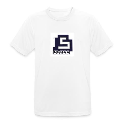 SOKAZZ LOGO - Pustende T-skjorte for menn