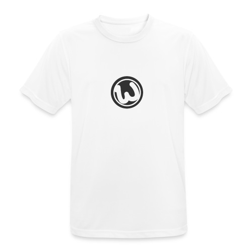 Wooshy Logo - Men's Breathable T-Shirt