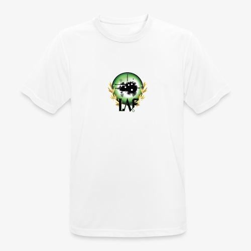 Load Aim Fire Merchandise - Mannen T-shirt ademend actief
