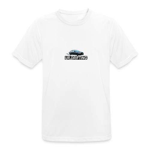 UR DRIFTING LOGO - Pustende T-skjorte for menn