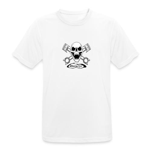 Bergen Bike Life - Pustende T-skjorte for menn