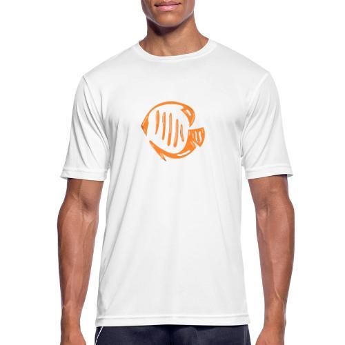 Aquarium Adventures Logo - Men's Breathable T-Shirt