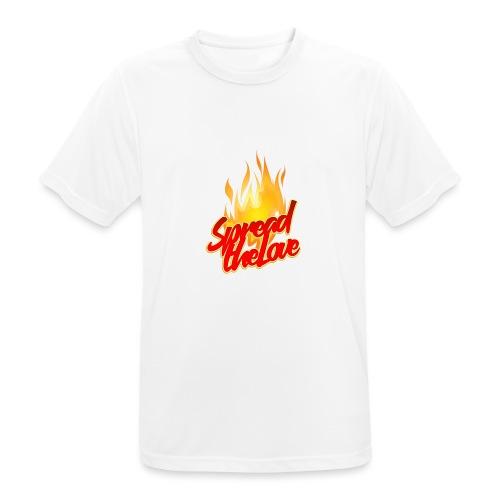 spread png - Maglietta da uomo traspirante