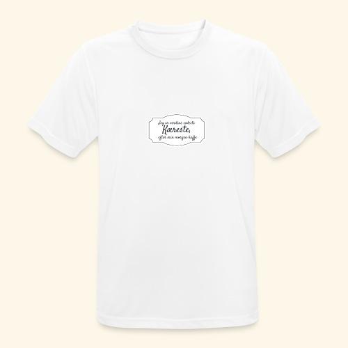 Verdens sødeste kæreste - Herre T-shirt svedtransporterende