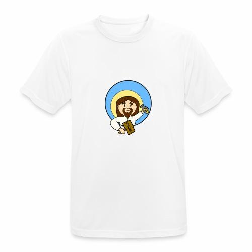 Gesù - Maglietta da uomo traspirante