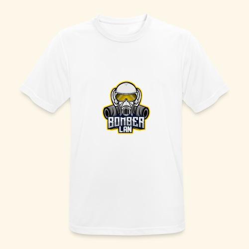 BOMBER LAN Logo - Männer T-Shirt atmungsaktiv