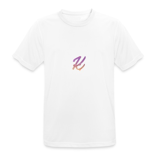 K Logo - Men's Breathable T-Shirt