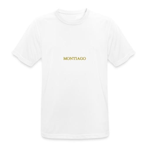 MONTIAGO LOGO - Men's Breathable T-Shirt