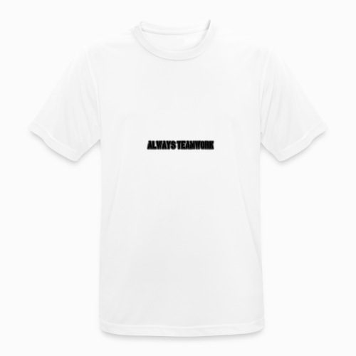 at team - Mannen T-shirt ademend actief