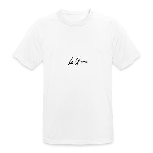 Lé Groom - Herre T-shirt svedtransporterende