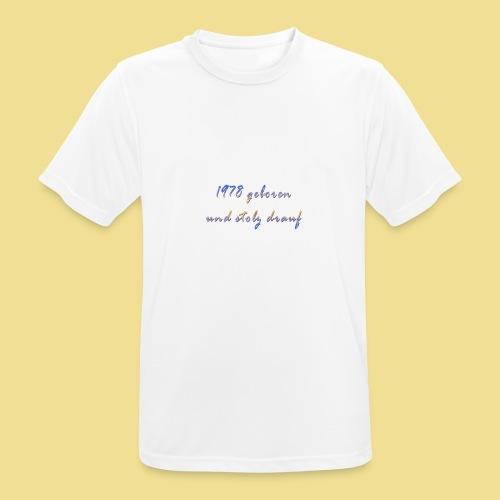 1978 - Männer T-Shirt atmungsaktiv