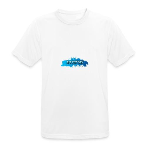Bri Futties paint design - Men's Breathable T-Shirt