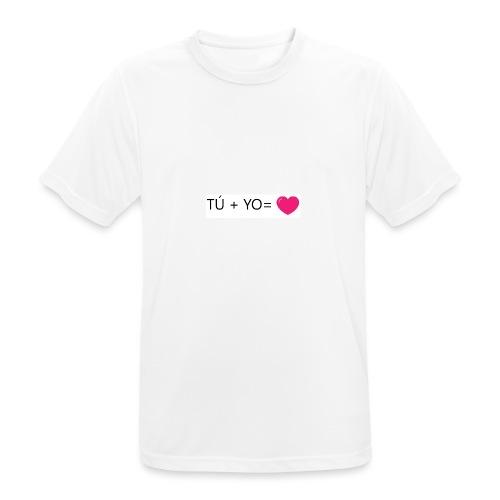 amor - Camiseta hombre transpirable