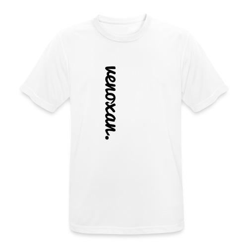 venoxan T-Shirt mit Schriftzug an der Seite - Men's Breathable T-Shirt