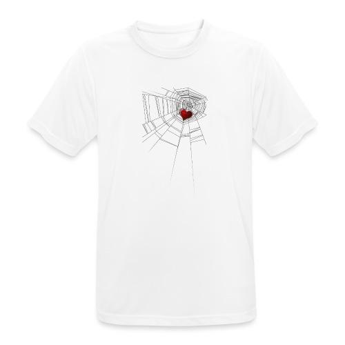 trappola_del_cuore - Maglietta da uomo traspirante