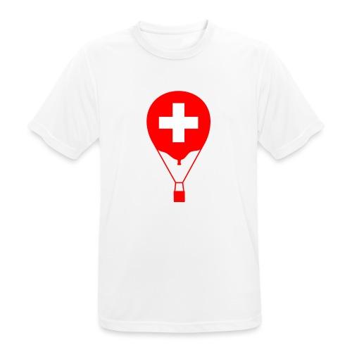 Gasballon im schweizer Design - Männer T-Shirt atmungsaktiv