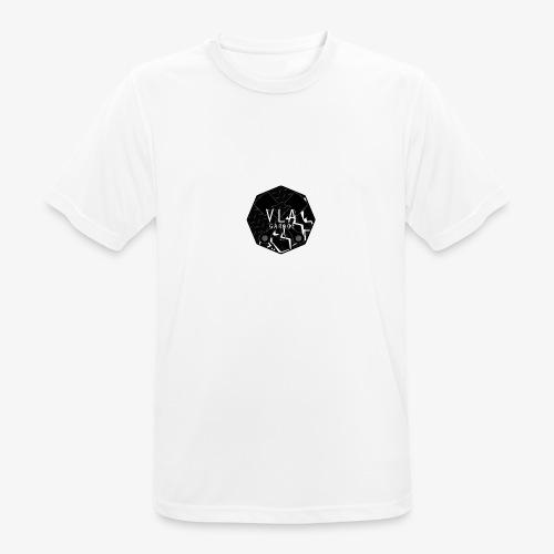 VLA GARAGE - miesten tekninen t-paita