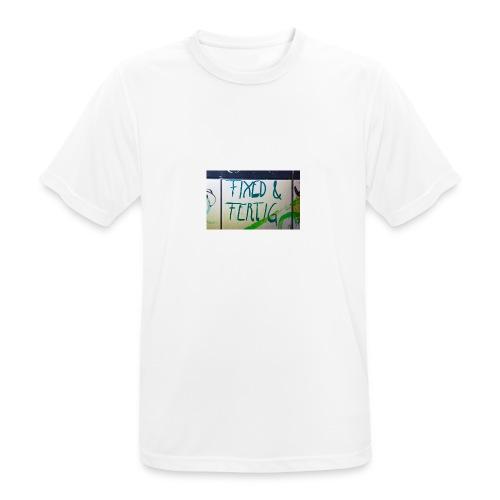 KLOSPRUCH FIXED & FERTIG - Männer T-Shirt atmungsaktiv