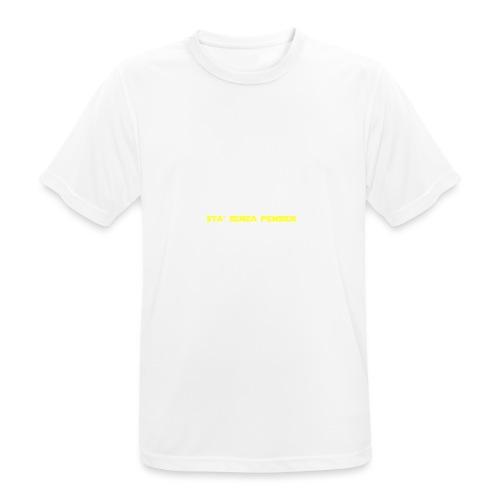 UVSMF - Maglietta da uomo traspirante