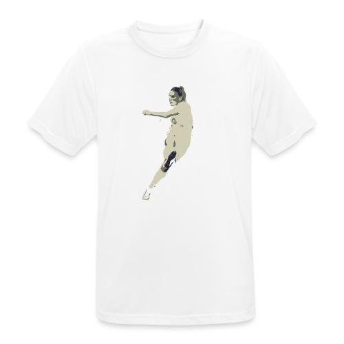 JAIMY VISSER - Mannen T-shirt ademend actief