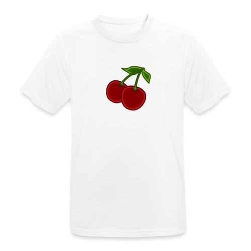 cherry - Koszulka męska oddychająca