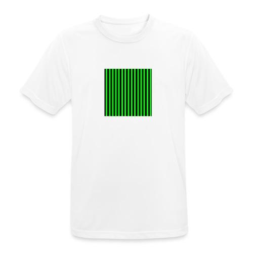 The henrymgreen Stripe Multi - Men's Breathable T-Shirt