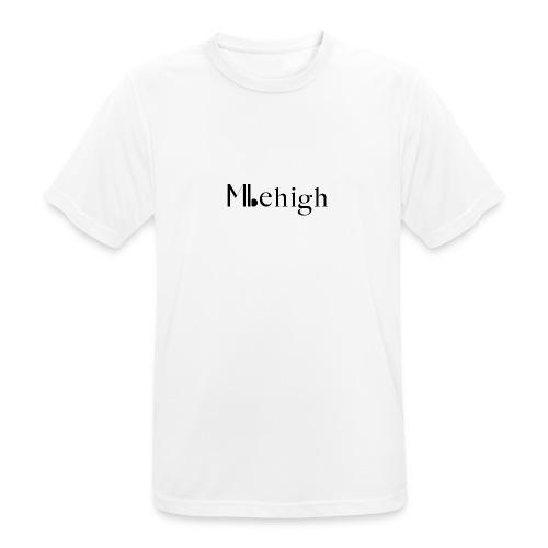 Milehigh Rags Logo Black - Pustende T-skjorte for menn