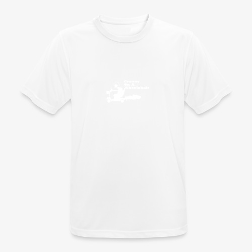 g on wheelchair - Men's Breathable T-Shirt