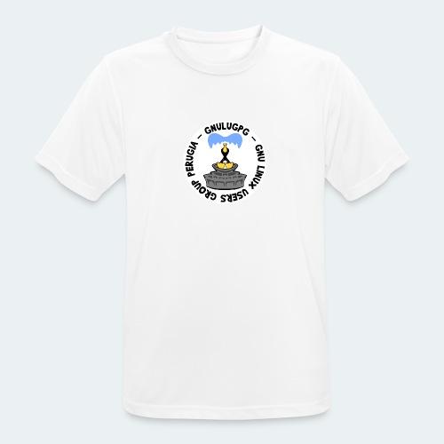LUG Perugia - Maglietta da uomo traspirante