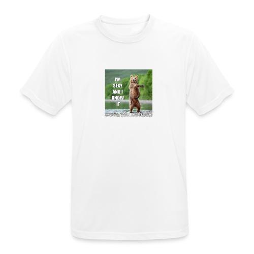 DRIKKEDUNK - Herre T-shirt svedtransporterende