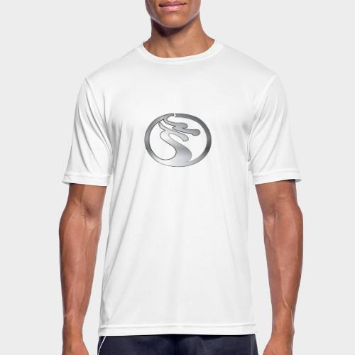 LOGO DRAGON PLATA - Camiseta hombre transpirable