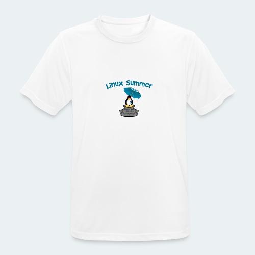 linux summer - Maglietta da uomo traspirante