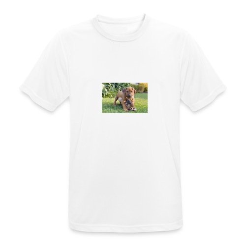 adorable puppies - Men's Breathable T-Shirt