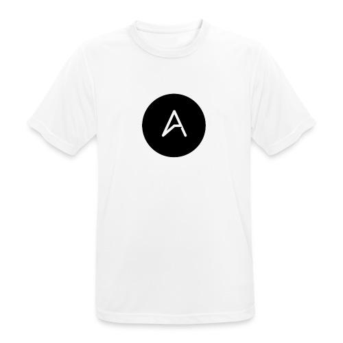 A MarkedMerke - Pustende T-skjorte for menn