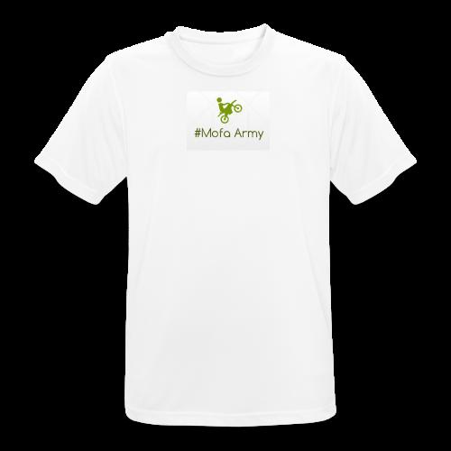 Mofa Army (Grün) - Männer T-Shirt atmungsaktiv
