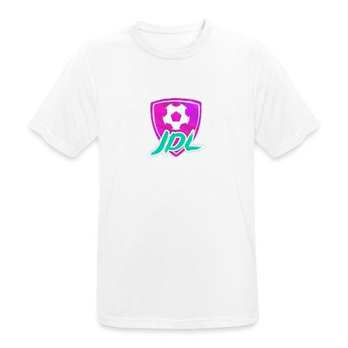 Logotipo del canal de JDL - Camiseta hombre transpirable