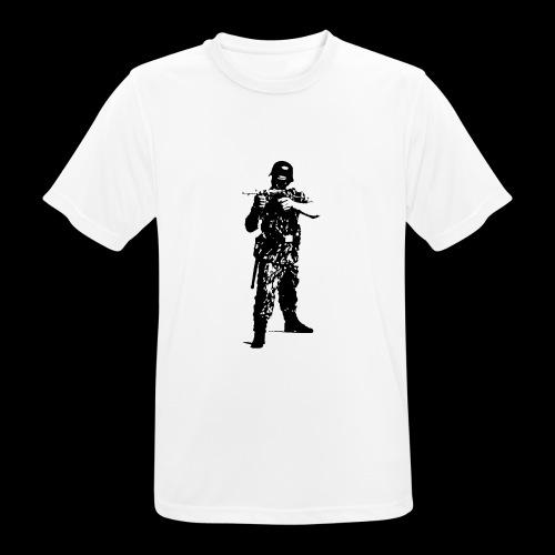 Soldat Attacke - Männer T-Shirt atmungsaktiv