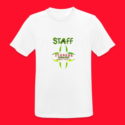 logo_de_ferdara_cosmetics_veracruz_zona_sur. - Camiseta hombre transpirable