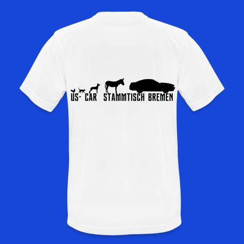 Evolution3 - Männer T-Shirt atmungsaktiv