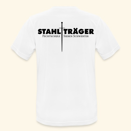 Stahlträger - Männer T-Shirt atmungsaktiv
