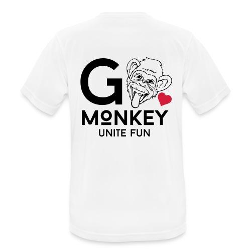 GO MONKEY - Unite fun - Pustende T-skjorte for menn
