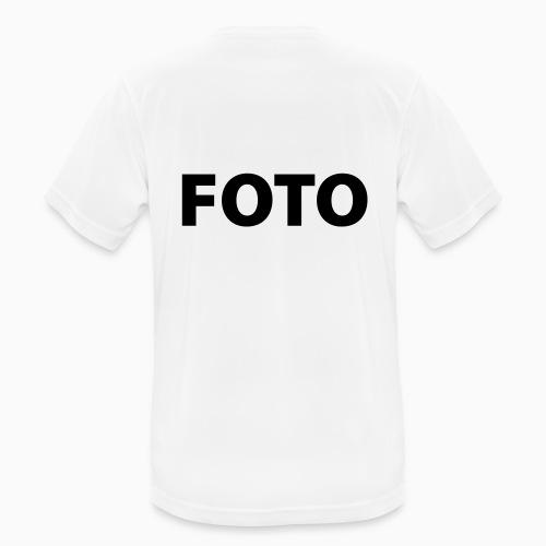 FOTO (Svart tryck) - Andningsaktiv T-shirt herr