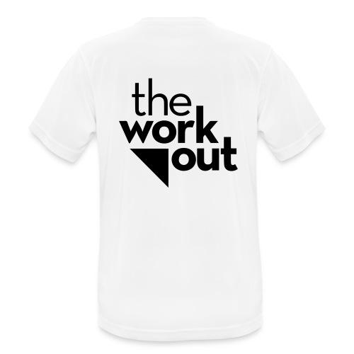 the WORKOUT - Maglietta da uomo traspirante
